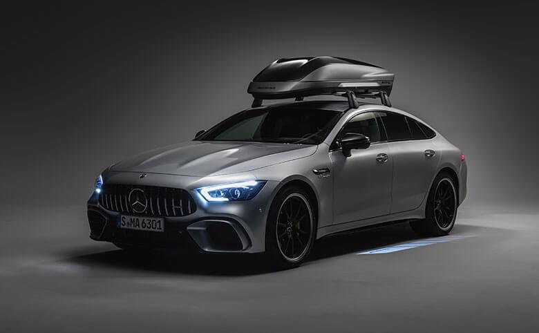 Aktionsangebot: AMG Dachbox für sportliche Reisen