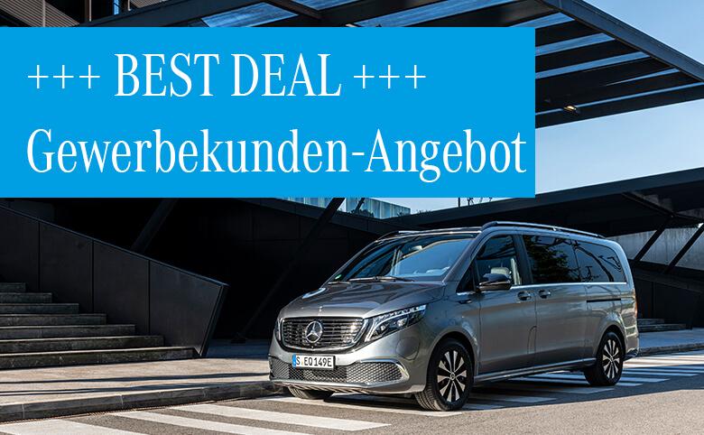 Best Deals im November für Gewerbekunden: C 300 de T-Modell Plug-in-Hybrid und Mercedes-Benz EQV 300 zum Aktionspreis