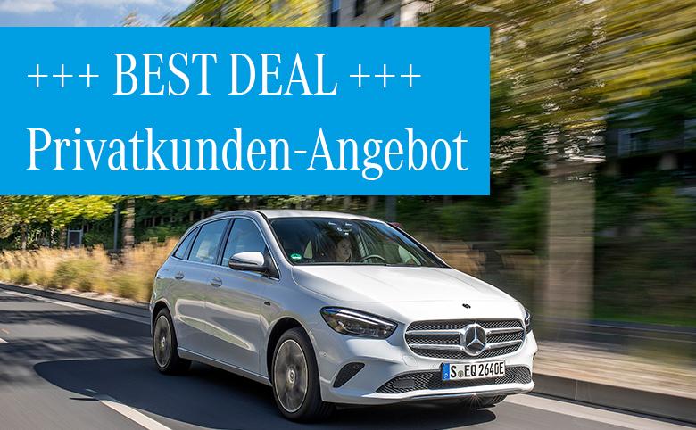 Best Deals im Januar: Mercedes-Benz B 250 e Plug-in-Hybrid*