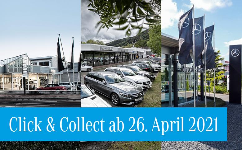 Ab 26.04.2021: Click & Collect in den Autohäusern der Herten Gruppe