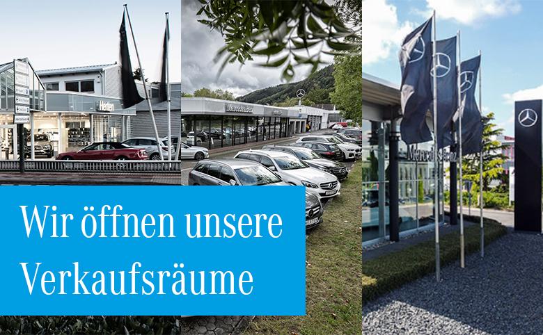 Autohaus Herten öffnet seine Verkaufsräume wieder