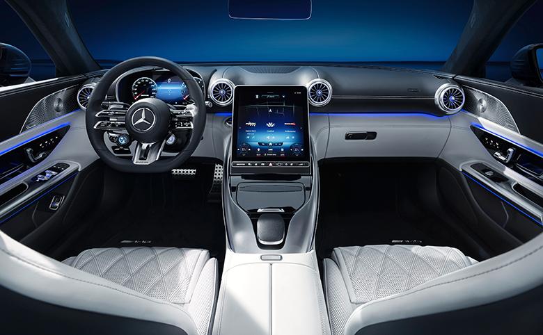 Mercedes-AMG SL: Exklusiver Einblick in das Interieur