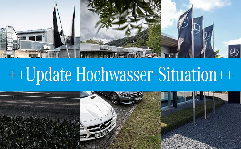 Update Hochwasser Situation