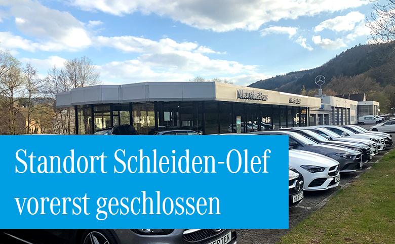 Autohaus Herten in Schleiden-Olef bis auf Weiteres geschlossen