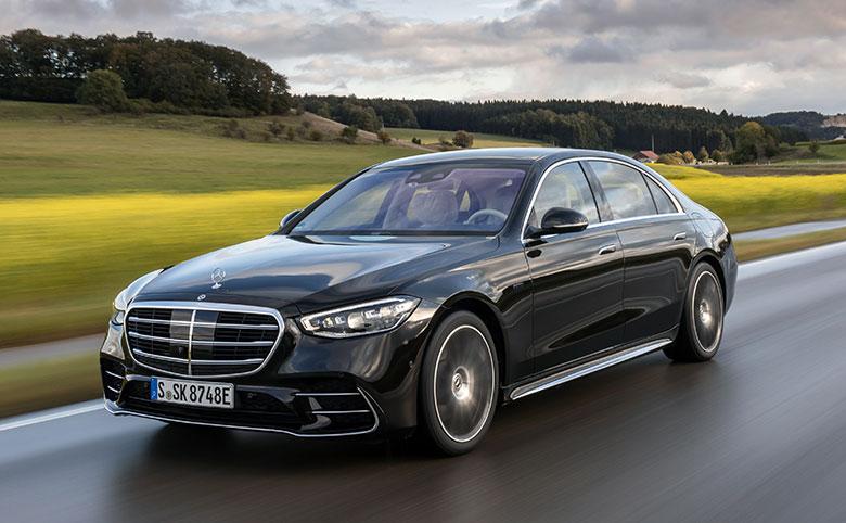 Mercedes-Benz S-Klasse jetzt als Plug-in-Hybrid bestellbar