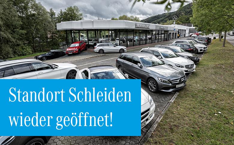 Hochwasserinformation: Autohaus Herten Eifel wieder geöffnet