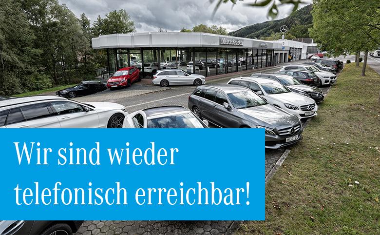 Unsere Abteilungen in Schleiden-Olef sind wieder für Sie erreichbar!